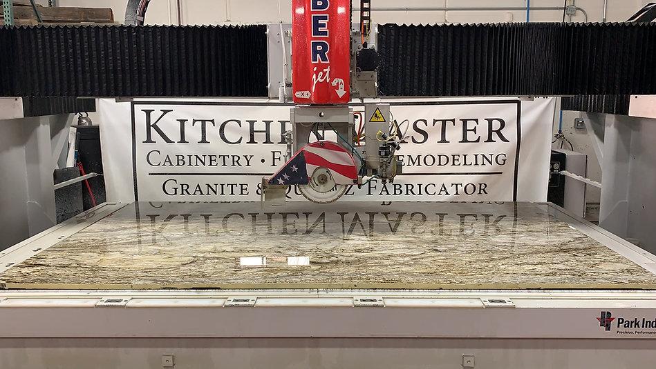 Kitchen Master Countertops on SaberJet