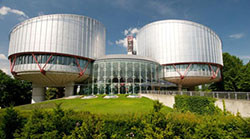 Visite à la Cour européenne des droits de l'homme (Strasbourg, mercredi 4 juillet 2018)