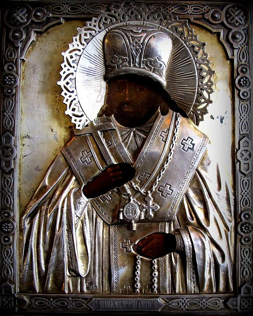 "Икона Святой Иннокентий Чудотворец ""Иркутский"""