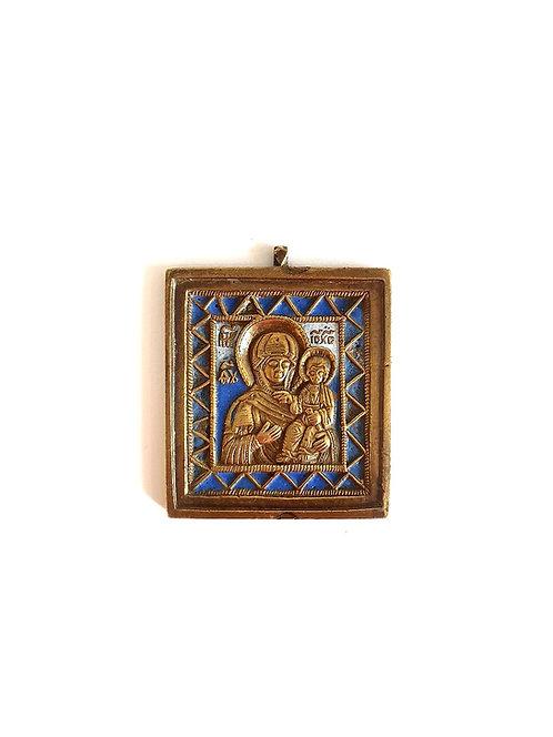 Икона Богоматерь Смоленская 19 век