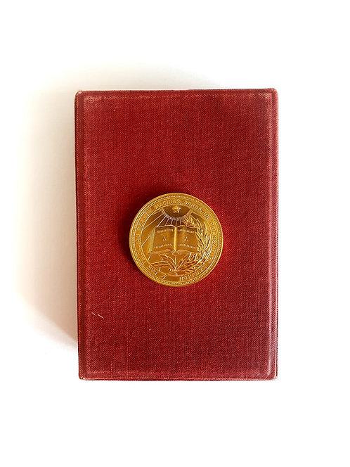 Золотая школьная медаль образца 1977 года