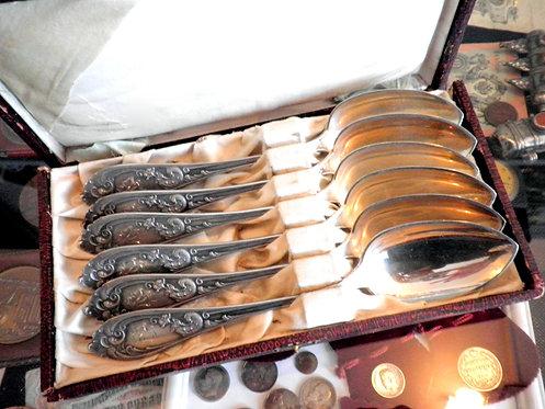 Серебренные ложки 1934 года