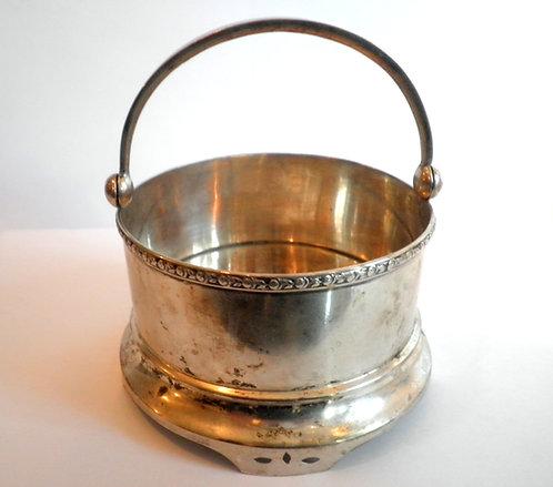 Конфетница серебренная  875 проба