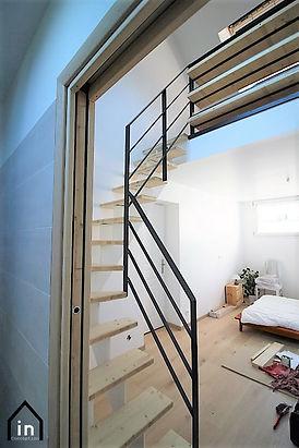 Escalier bureau Nantes