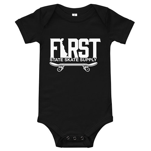 Fsss Baby Onsie W/ White Logo