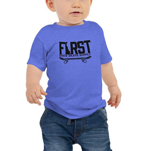 Baby FSSS Black Logo Tee