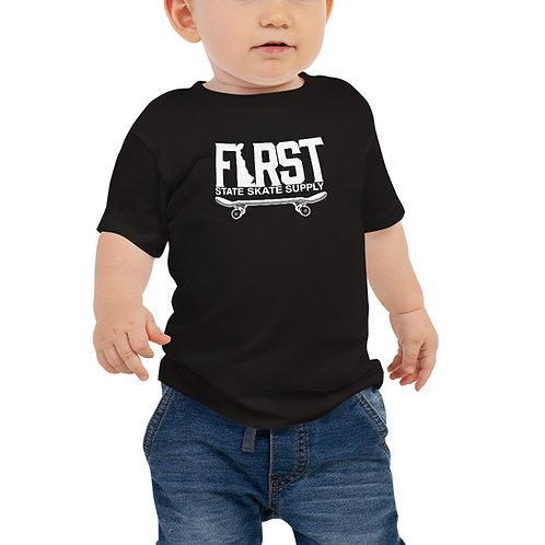 Baby FSSS White Logo Tee