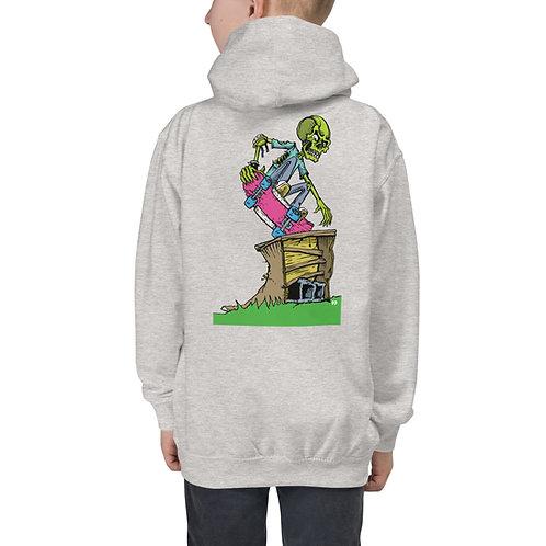 Youth Janky Hoodie W/ Lime Green FSSS Logo