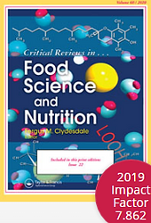 Critical Reviews in Food Science and Nut