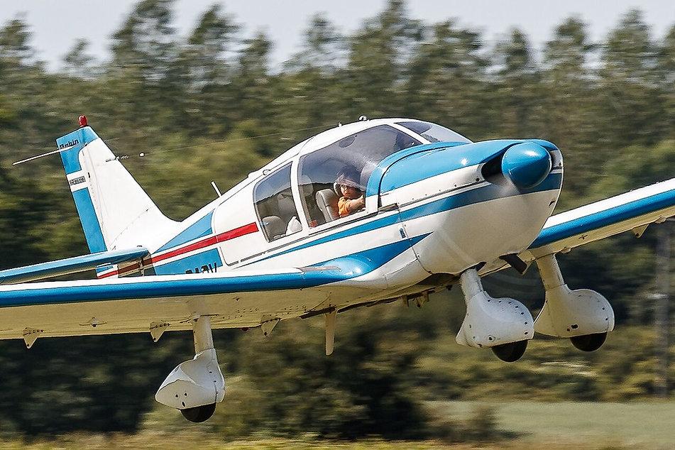 Robin HR100 take off