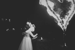 Pokaz Magia Ognia na weselu