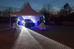 Pokaz Lightshow Glamour - prezentacja nowego Mercedesa
