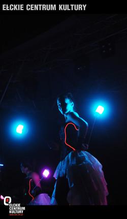 Pokaz Lightshow Glamour- Ełk Oień i Woda