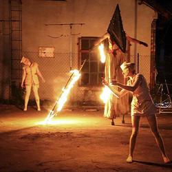 Pokaz Silent Hill w ramch Dębowy Maj Festiwal