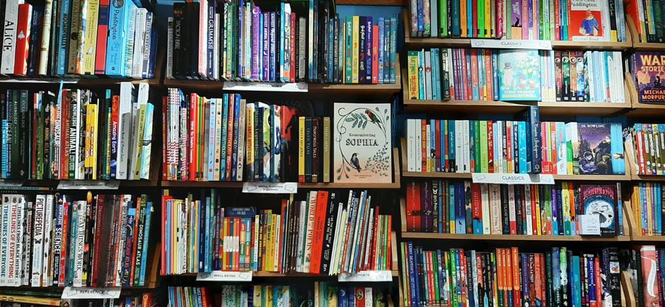 Hunts bookshop and Warwick Books