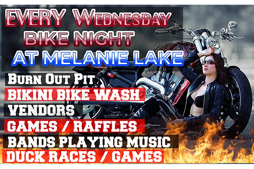 Wednesday Night Events - Pay At The Gate