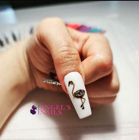 angel's nails flamingo nail.jpg
