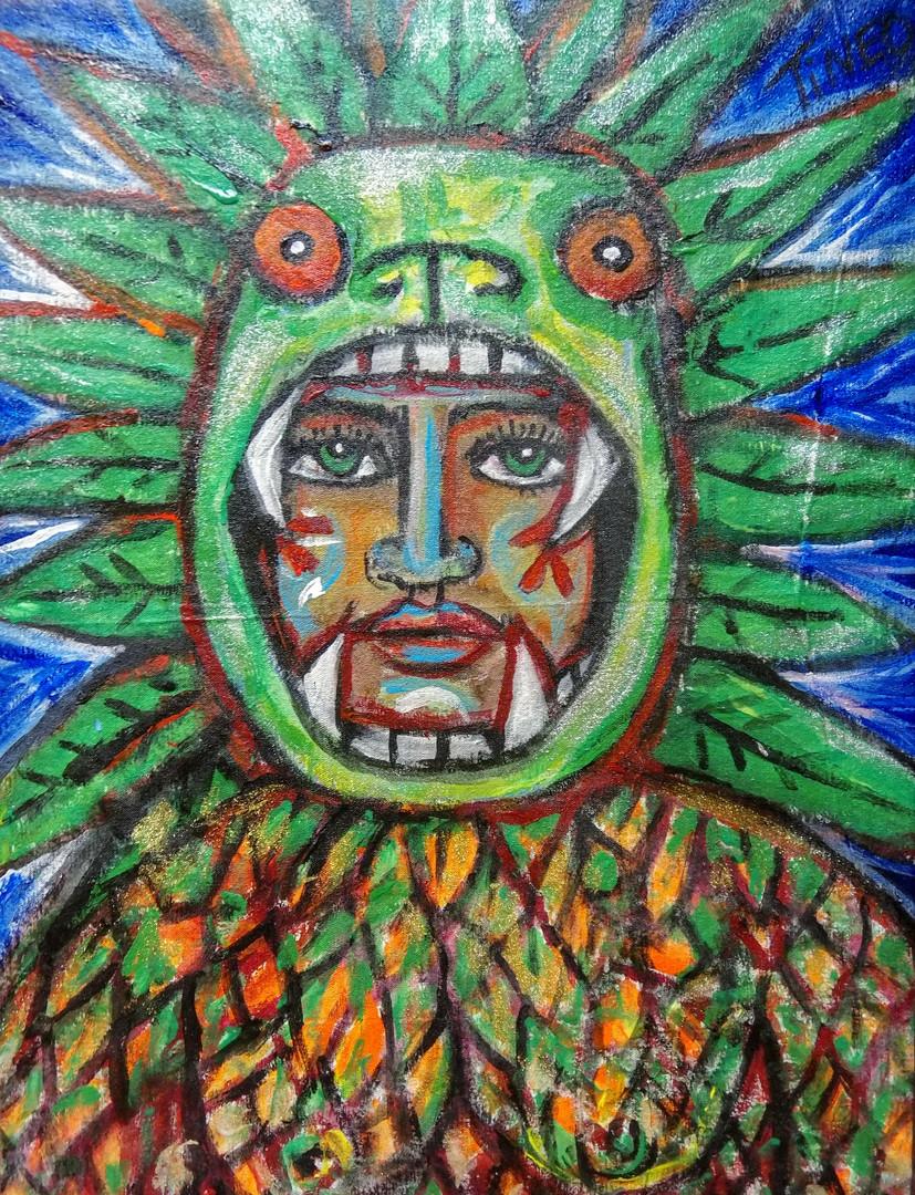 David Tineo_Green Dino Mask.jpg