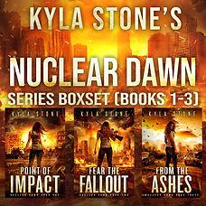 Nuclear Dawn series box set 1-3  AUDIOBO