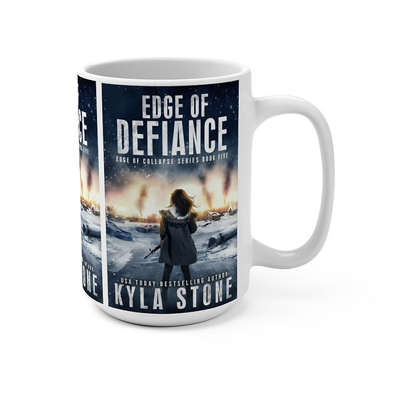 Edge of Defiance Mug 15oz