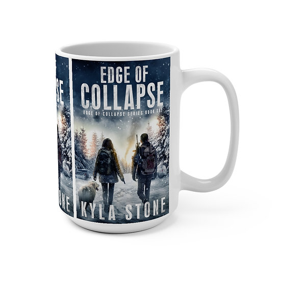 Edge of Collapse Mug 15oz