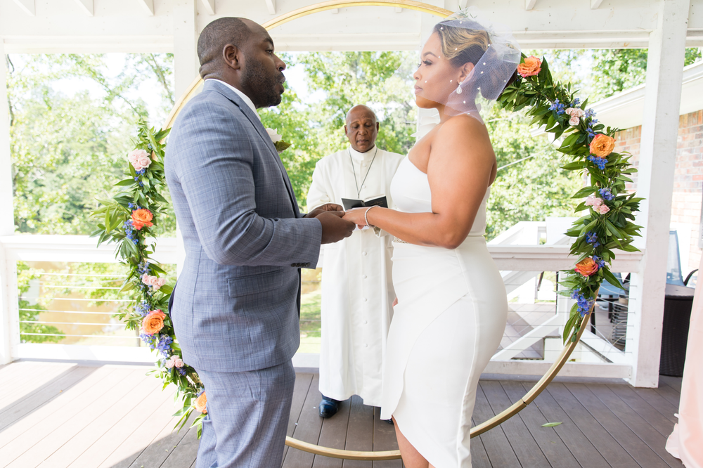 elopement wedding, intimate wedding, live stream wedding, How to live stream a wedding, microwedding, Atlanta wedding planner