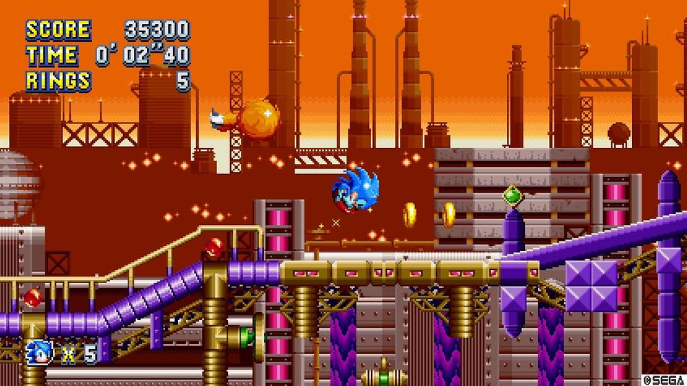 Sonic Mania, parece jogo antigo, mas é um dos lançamentos mais aguardados de 2017.