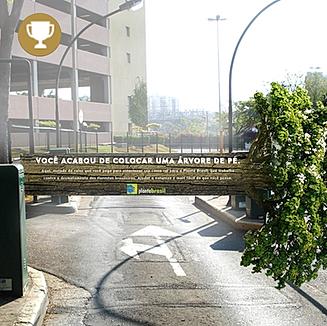 Planta Brasil - Ação de Guerrilha