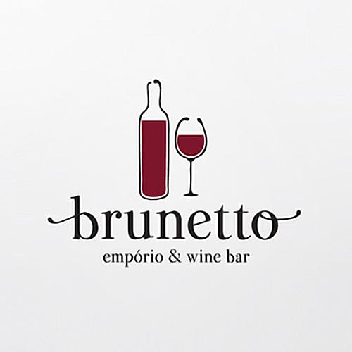 Logo Brunetto Empório e Wine Bar