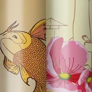 Embalagem Golden Dreams Cosmétics - Perfumes Koi e Ai
