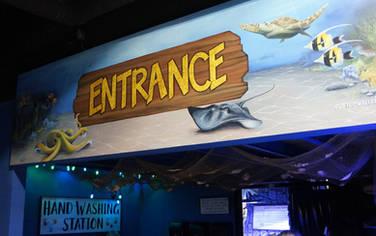 Aquarium Entrance