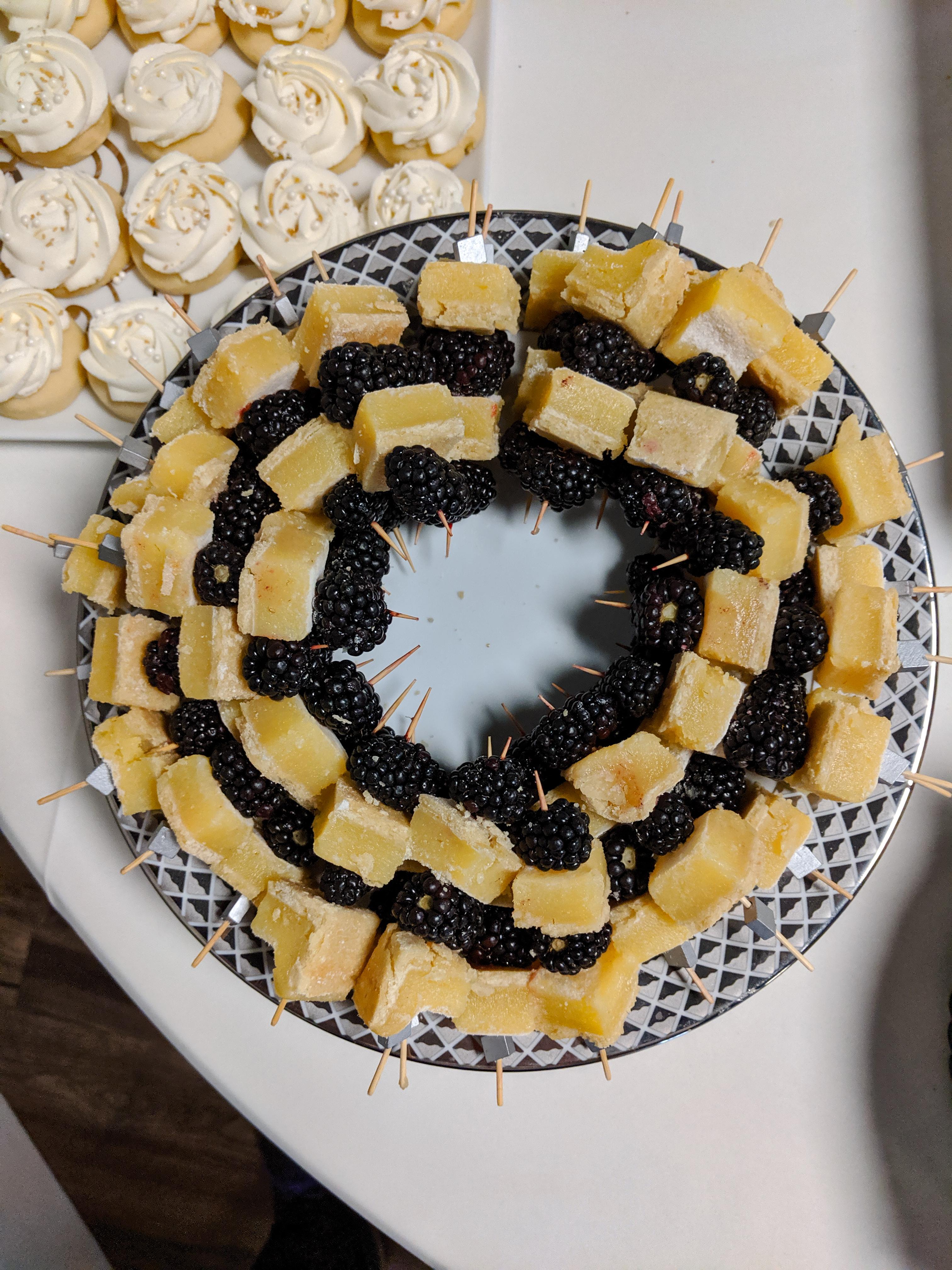 Blackberry Lemon Bars