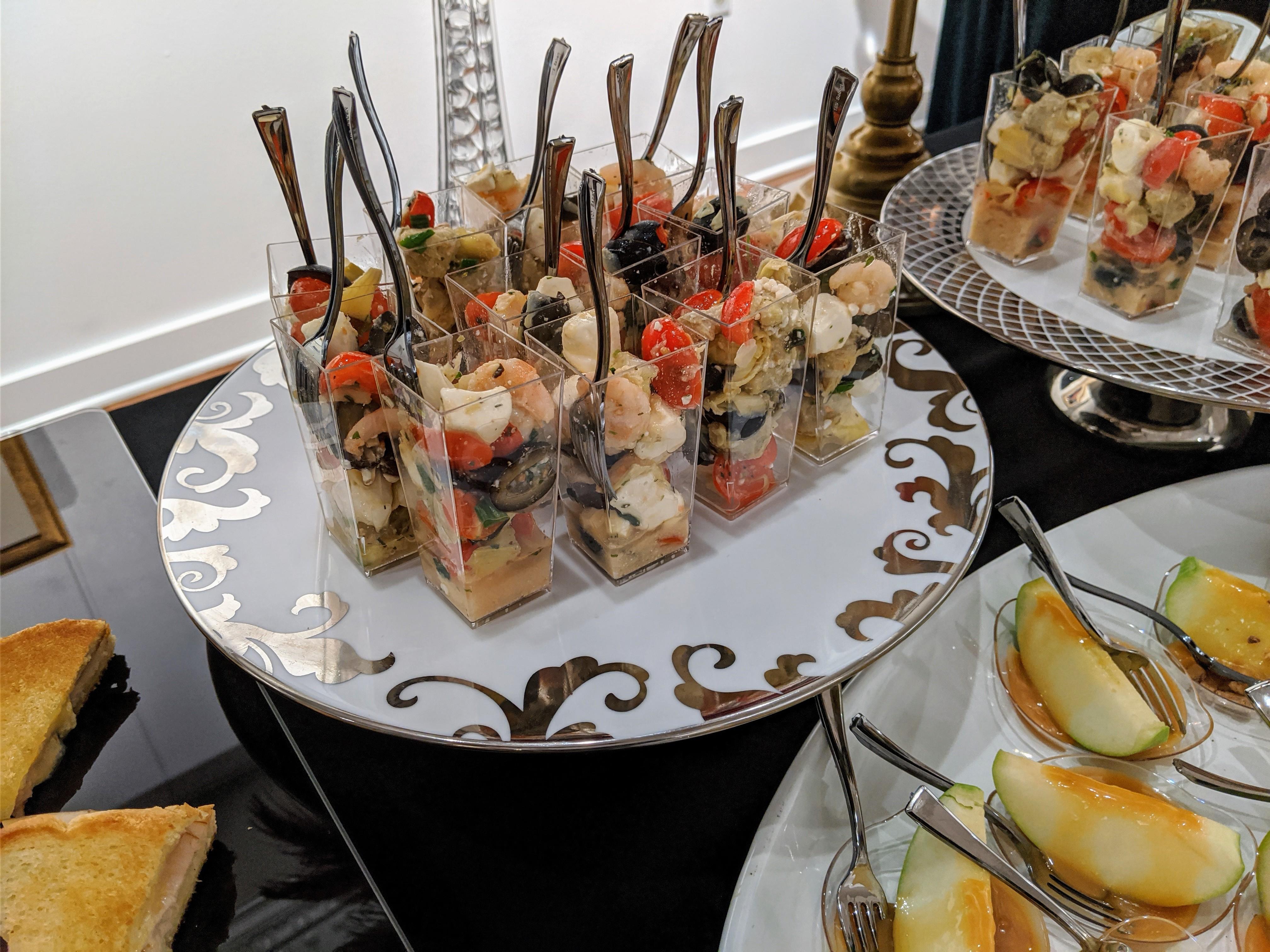 Shrimp, Tomato & Artichoke Salad