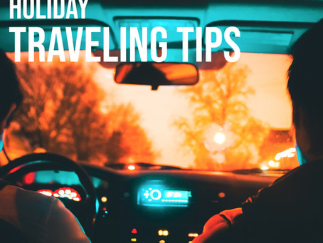 Holiday Traveling Tips