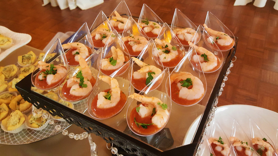 Mini Shrimp Cocktails