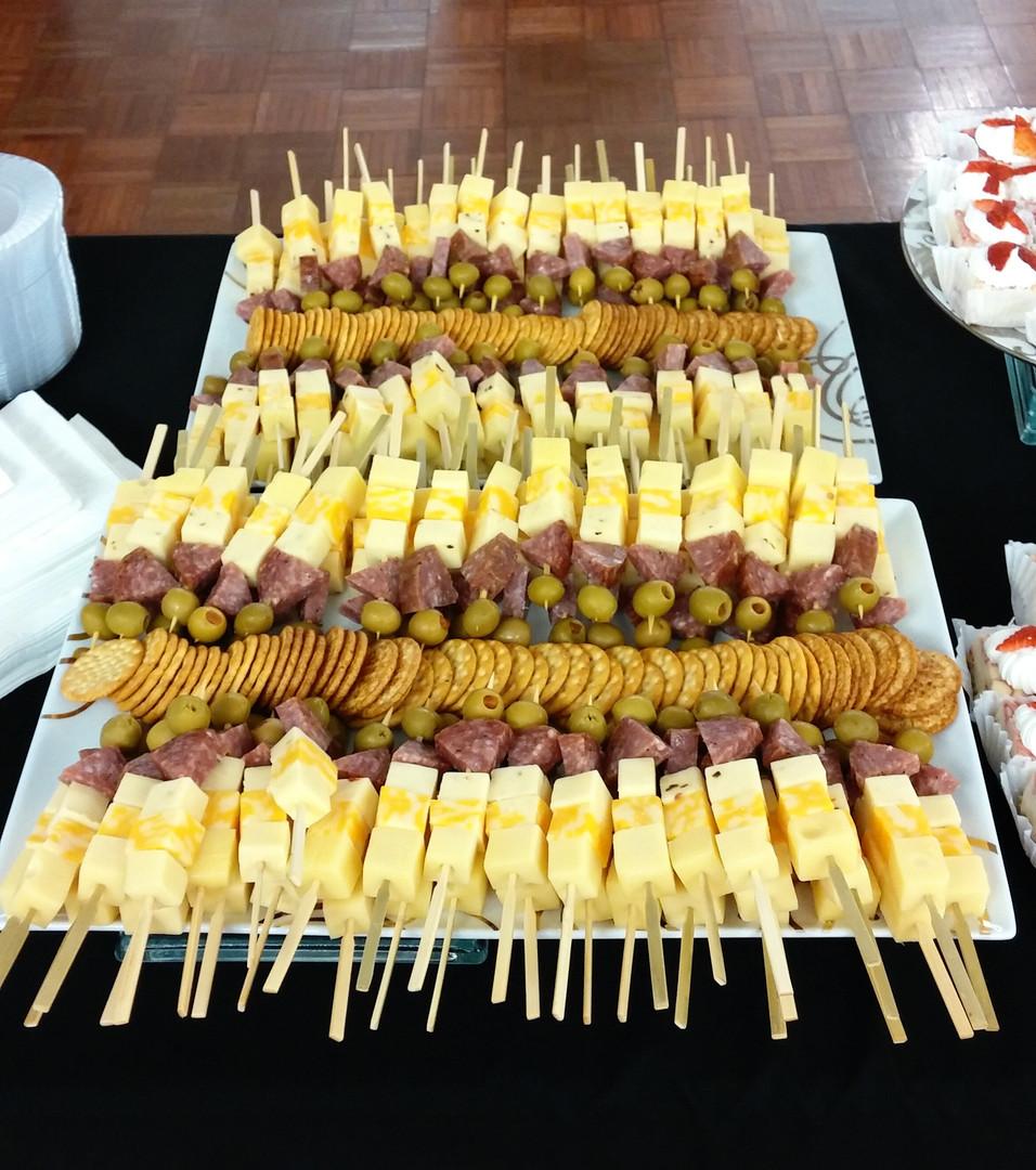 Cheese Kabobs