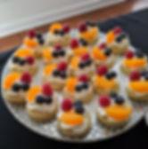 TWB Catering Fruit Tarts