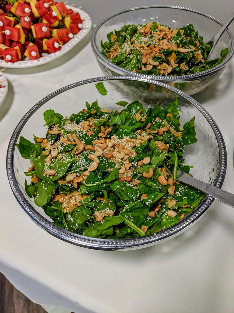 Spinach Pasta Salad