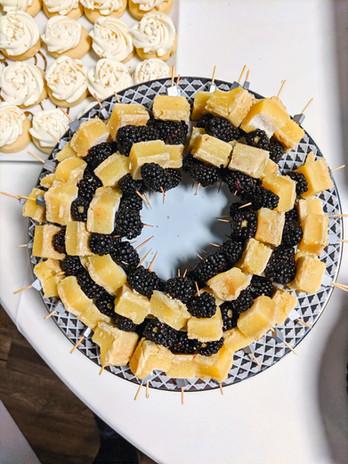 Blackberry Lemon Bites