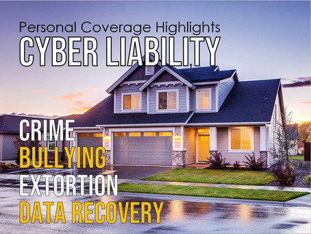 Personal Coverage Highlight - Cyber Liability