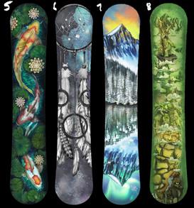 Custom Snowboard Graphics