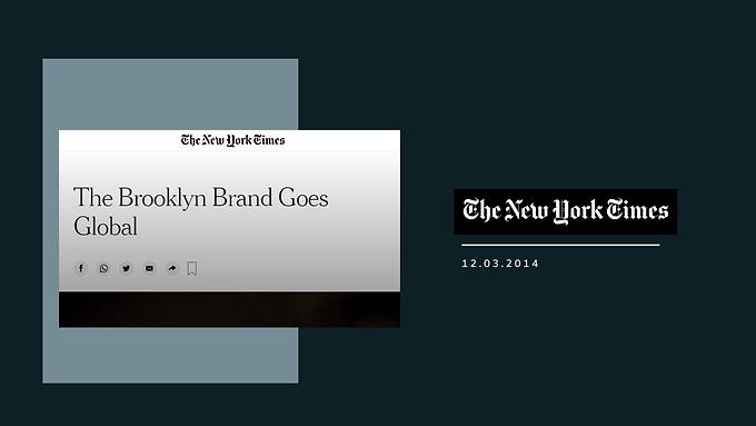 The Brooklyn Brand Goes Global