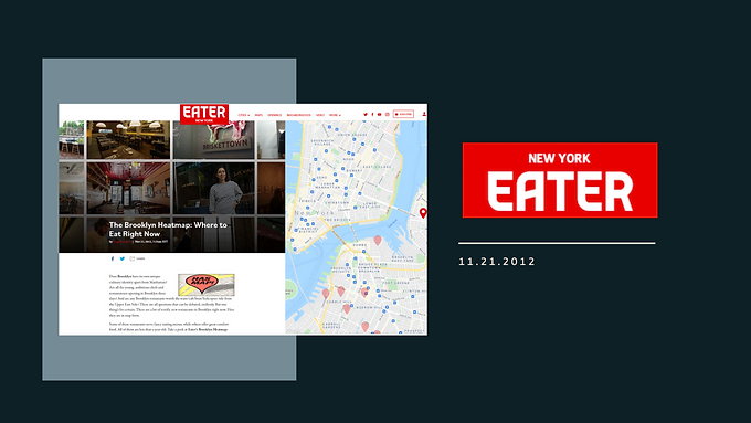 The Brooklyn Heatmap: Where to Eat Right Now