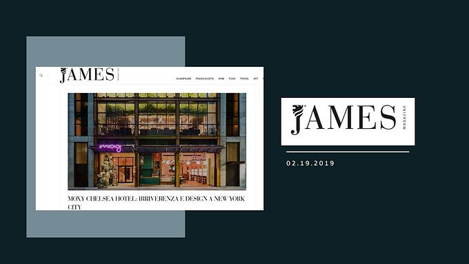 MOXY CHELSEA HOTEL: IRRIVERENZA E DESIGN A NEW YORK CITY