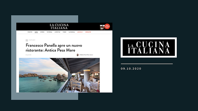 Francesco Panella apre un nuovo ristorante: Antica Pesa Mare
