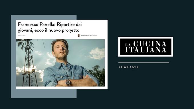Francesco Panella: Ripartire dai giovani, ecco il nuovo progetto