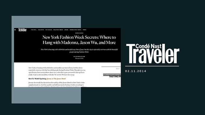New York Fashion Week Secrets: Where to Hang with Madonna, Jason Wu, and More