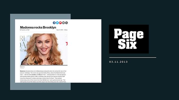 Madonna rocks Brooklyn