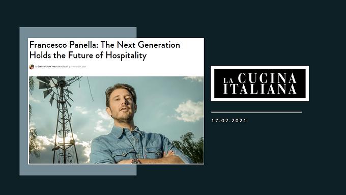 Francesco Panella: The Next Generation Holds the Future of Hospitality
