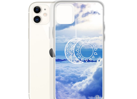 Blue Moon & Sun iPhone Case